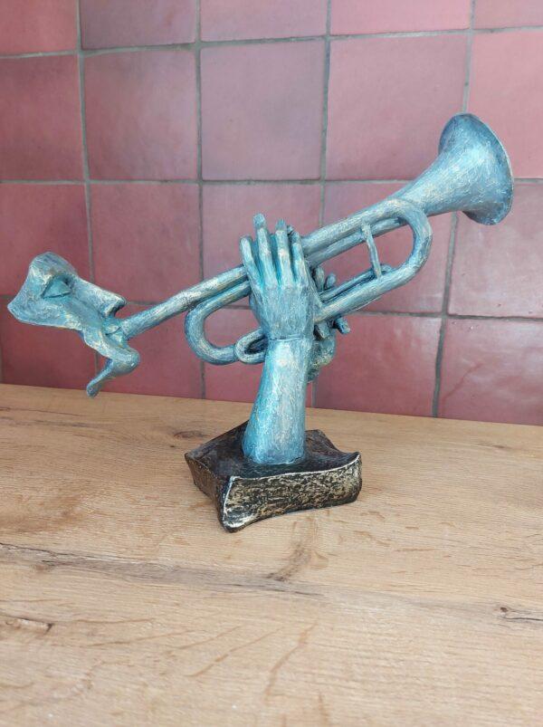 decoratie-trompet