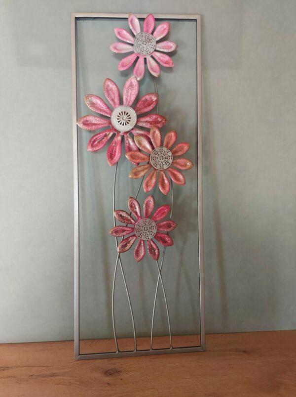 Metalen-wandhanger-bloem