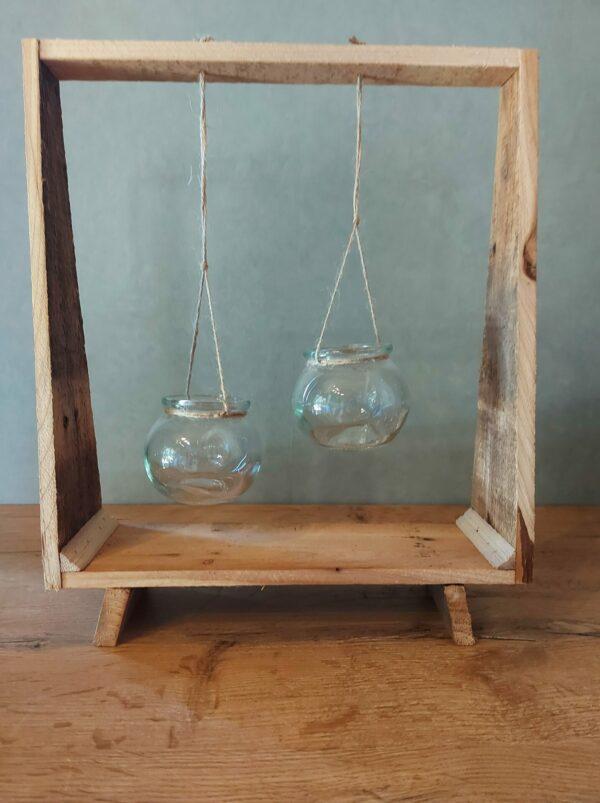 staander-hout-2 kaarsen