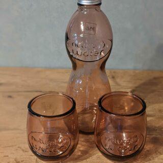 Pakket-fles-glazen-gerecycleerd-recycled