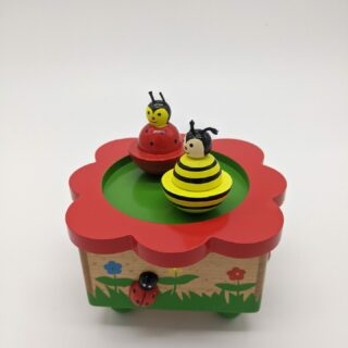 Muziekdoosje-Dansde lieveheersbeestjes