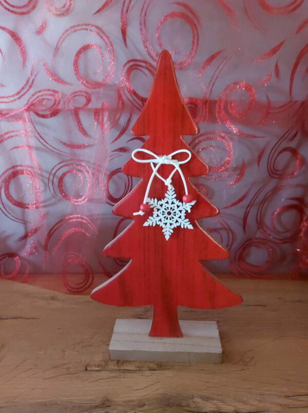 Kerstboom-Rood-hout