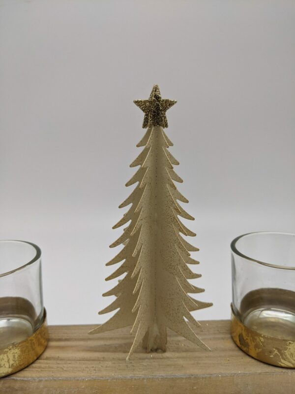Theelicht-beige-hout-Kerst